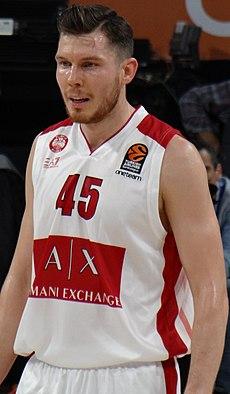 Бертанс као играч Олимпије из Милана