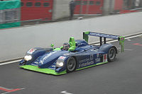 Rollcentre Racing's Dallara SP1 (ex-Chrysler/Oreca) at the 2005 1000km of Spa.
