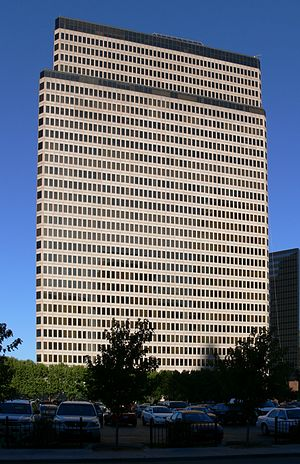 2100 Ross Avenue - Image: Dallas 2100 Ross Ave (San Jacinto Tower) 2