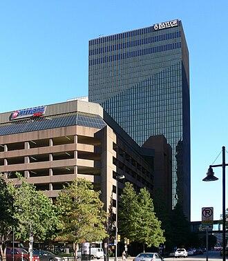Bryan Tower - Image: Dallas Bryan Tower and parking garage