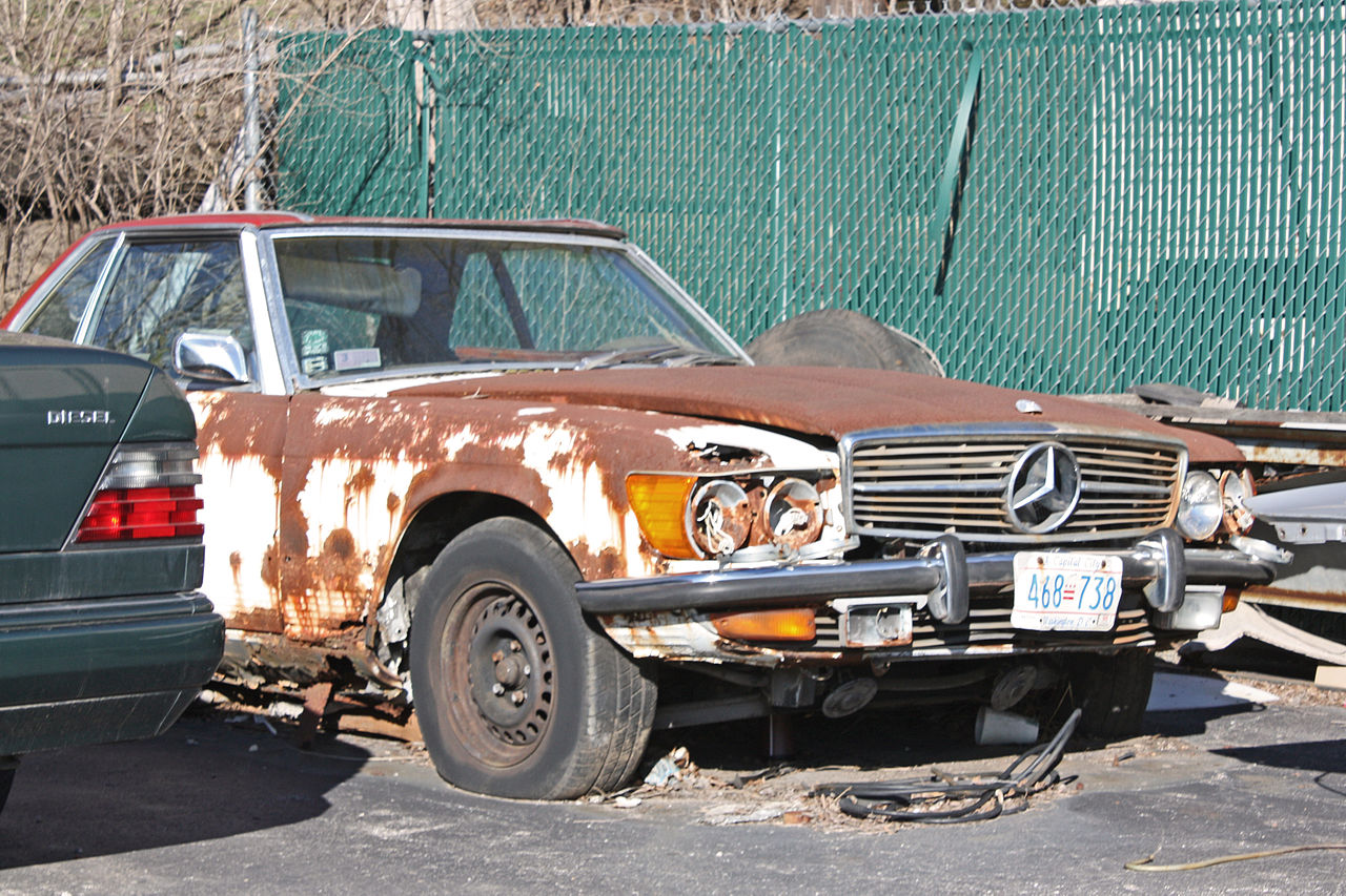 File damaged wikimedia commons for Salvage mercedes benz