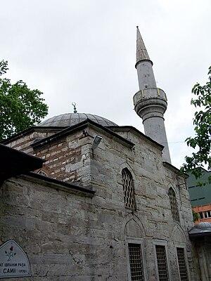 Damat Ibrahim Pasha - The Damat Ibrahim Pasha mosque in the Fatih district of Istanbul.