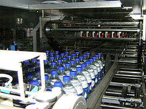 Damavand Mineral Water Co. - Damavand Mineral Water packing