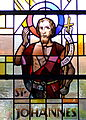 Damscheid, Johannes de Doperkerk, raam Sint-Johannes.jpg