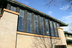 Dana–Thomas House - Window Detail
