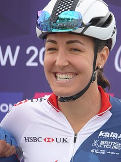 Dani Rowe - 2018 UEC European Road Cycling Championships (Women's road race).jpg