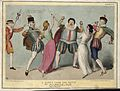Daniel O'Connell in theatrical costume defends himself with Wellcome V0050295.jpg