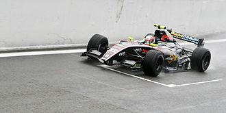 Daniel Zampieri - Zampieri driving for Pons Racing at the Spa–Francorchamps round of the 2010 Formula Renault 3.5 Series season.