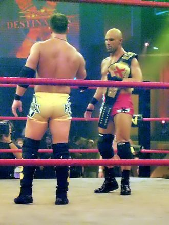 A.J. Styles - Styles teamed and feuded with Christopher Daniels throughout 2005