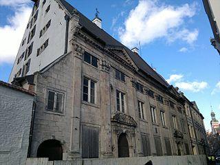 Dannenstern House architectural structure
