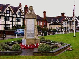 Datchet, the war memorial.JPG