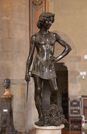 David (Verrocchio) - Image: David, Andrea del Verrocchio, ca. 1466 69, Bargello Florenz 01