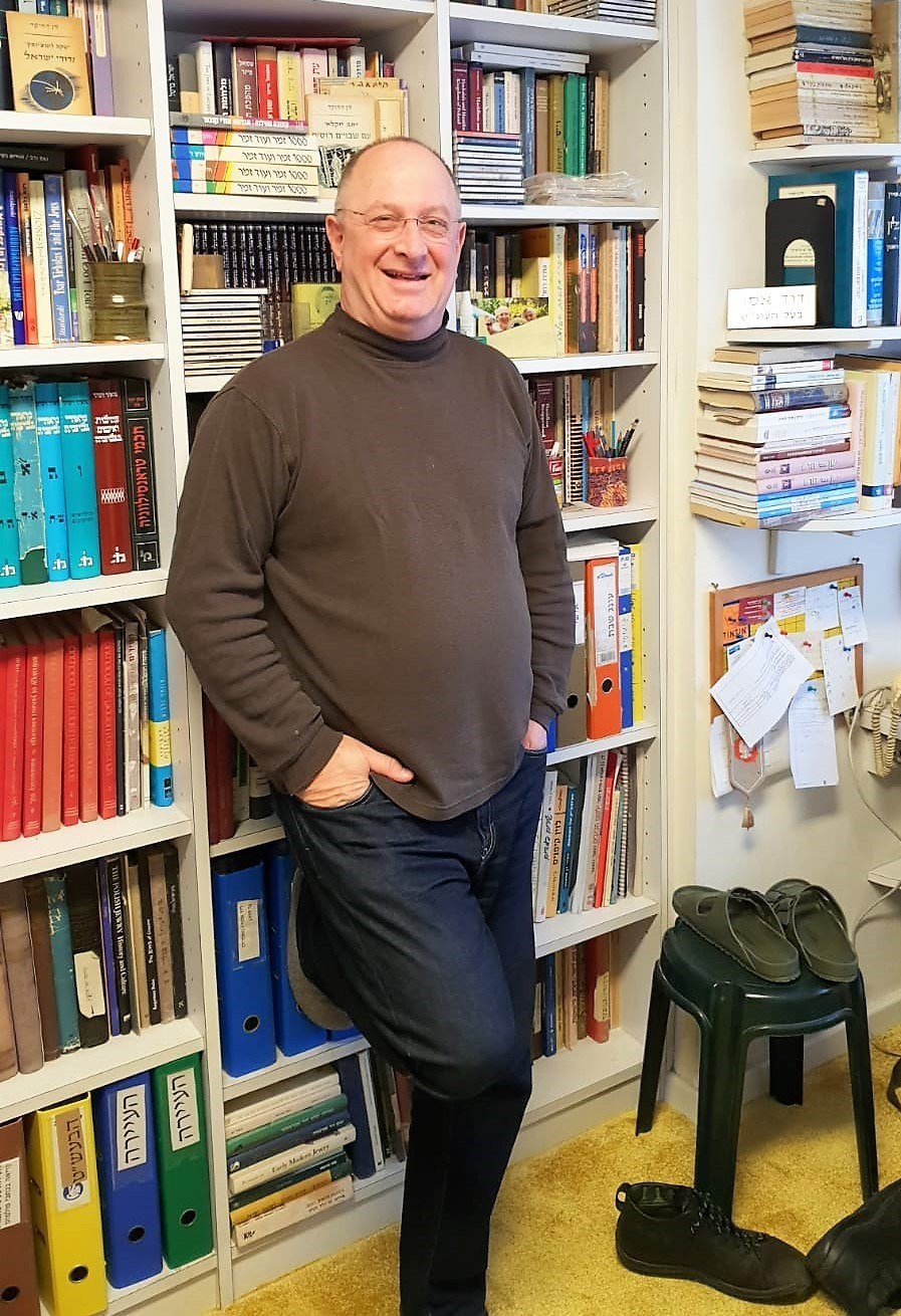 David Assaf in his study, Dec 2018