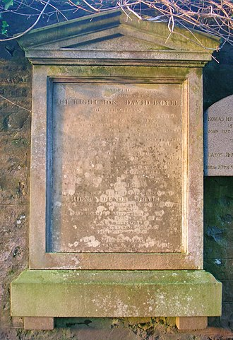 David Boyle, Lord Boyle - Memorial to David Boyle at Dundonald.