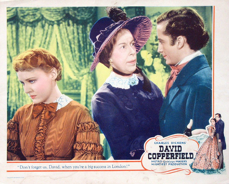 David Copperfield lobby card