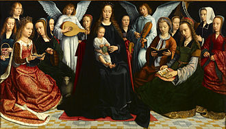 1509 in art - Image: David Virgin among the Virgins