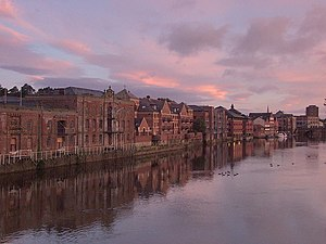 English: Dawn over the River Ouse