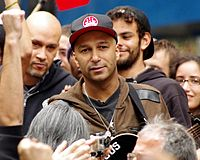 Day 28 Occupy Wall Street Tom Morello 2011 Shankbone 7.JPG