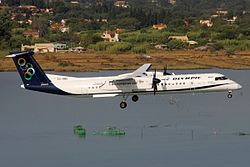 Bombardier Dash 8Q-400 der Olympic Air