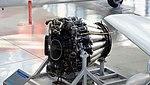 De Havilland Goblin 35 turbojet engine left front top view at Hamamatsu Air Base Publication Center November 24, 2014.jpg