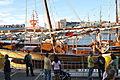 De dhow THEYAB voor de wal bij Sail Amsterdam 2010 (11).JPG
