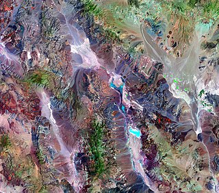 Geology of the Death Valley area Geology of the area in California and Nevada