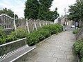 Decorative railings, High Street, Loanhead - geograph.org.uk - 947508.jpg