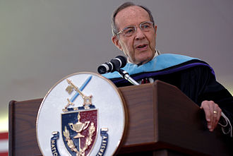 William Perry - Perry at the National Defense University graduation on Fort Lesley J. McNair, Washington, D.C., on June 12, 2008.
