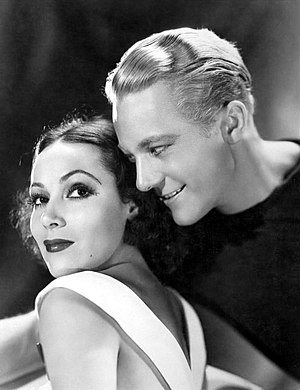 Flying Down to Rio - Dolores del Río and Gene Raymond in the film