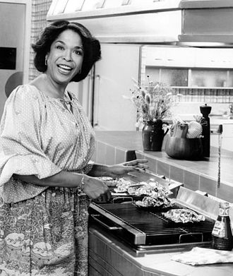 Della Reese - Reese appearing in a Kraft Foods commercial, 1977.
