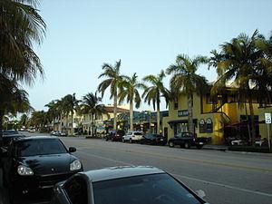 Florida State Road 806 - SR 806 (Atlantic Avenue) through downtown Delray Beach.