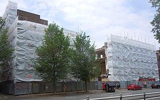 Astoria Theatre, Brighton - Demolition work was underway in May 2018.