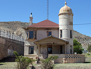 Colorado Territorial Correctional Facility - The Deputy Warden's House, on the grounds of the Colorado Territorial Correctional Facility, built in 1901 by prison labor