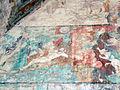 Detalle de pinturas de la capilla abierta del Templo y exconvento de San Nicolás de Tolentino.JPG