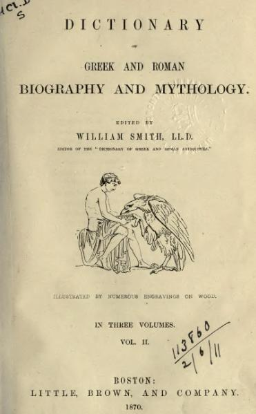 File:Dictionary of Greek and Roman Biography and Mythology (1870) - Volume 2.djvu