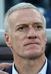 Didier Deschamps in 2018.