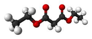 Diethyl malonate - Image: Diethyl malonate 3D balls