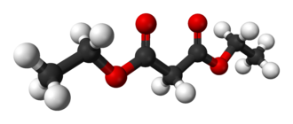 Diethyl malonate - Image: Diethyl malonate 3D balls