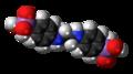 Difetarsone molecule spacefill.png