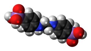 Difetarsone - Image: Difetarsone molecule spacefill