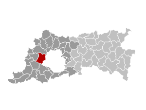 Dilbeek - Image: Dilbeek Locatie