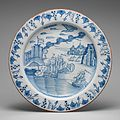 Dish with Capture of Portobello by Admiral Vernon, November 20–21, 1739 MET DP-1143-002.jpg