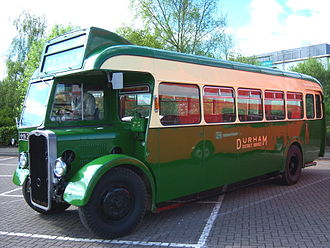 Bus preservation in the United Kingdom - 1947 preserved bus