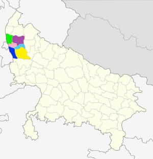 Meerut division - Image: Division Meerut