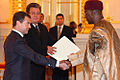 Dmitry Medvedev with Timothy Shelpidi.jpg