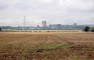 A631 road - Maltby Main Colliery