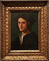 Domenico puligo (attr.), ritratto d'uomo, 1510 ca.jpg