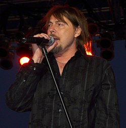 Don Dokken live on June 21, 2008 in West Fargo, North Dakota. Photo by Matt Becker}