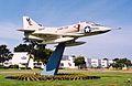Douglas A-4C on a pylon (5095293462).jpg