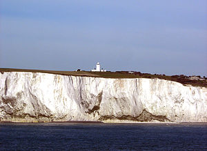 South Foreland - South Foreland lighthouse seen from the sea